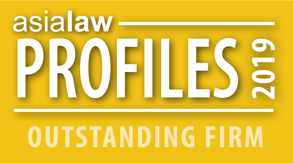 asialaw PROFILES 2019 RECOMMENDED FIRM